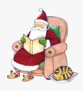 Even Santa does it!